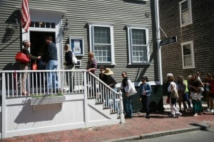 Nantucket Hospital Thrift Shop opening.