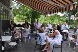Claudette's Patio in Sconset