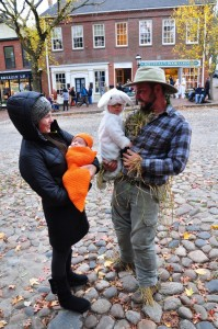 Halloween on Main Street, Nantucket is for all ages.