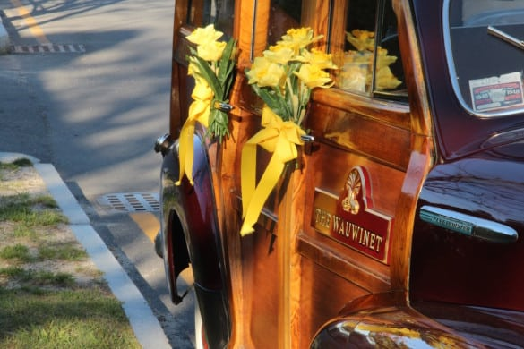 Transportation from The Wauwinet for the Nantucket Daffodil Festival.