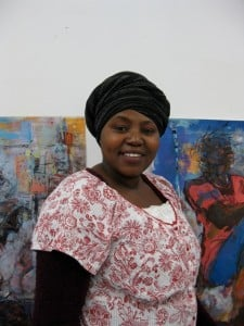 Mercy Moyo of Zimbabwe is the Artists Association of Nantucket's March Artist-in-Residence