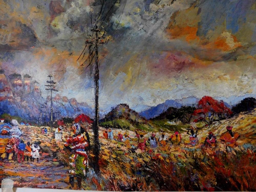 Mercy Moyo of Zimbabwe is the Artists Association of