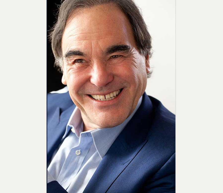 Award-winning screenwriter, Oliver Stone, will be honored at the 2016 Nantucket Film Festival.