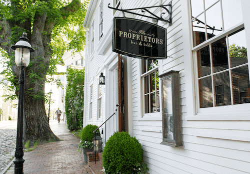 Proprietors on Nantucket