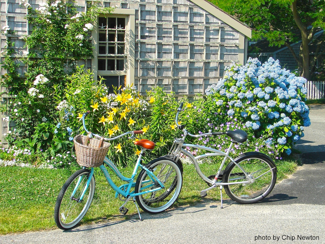 Bikes on Nantucket Island