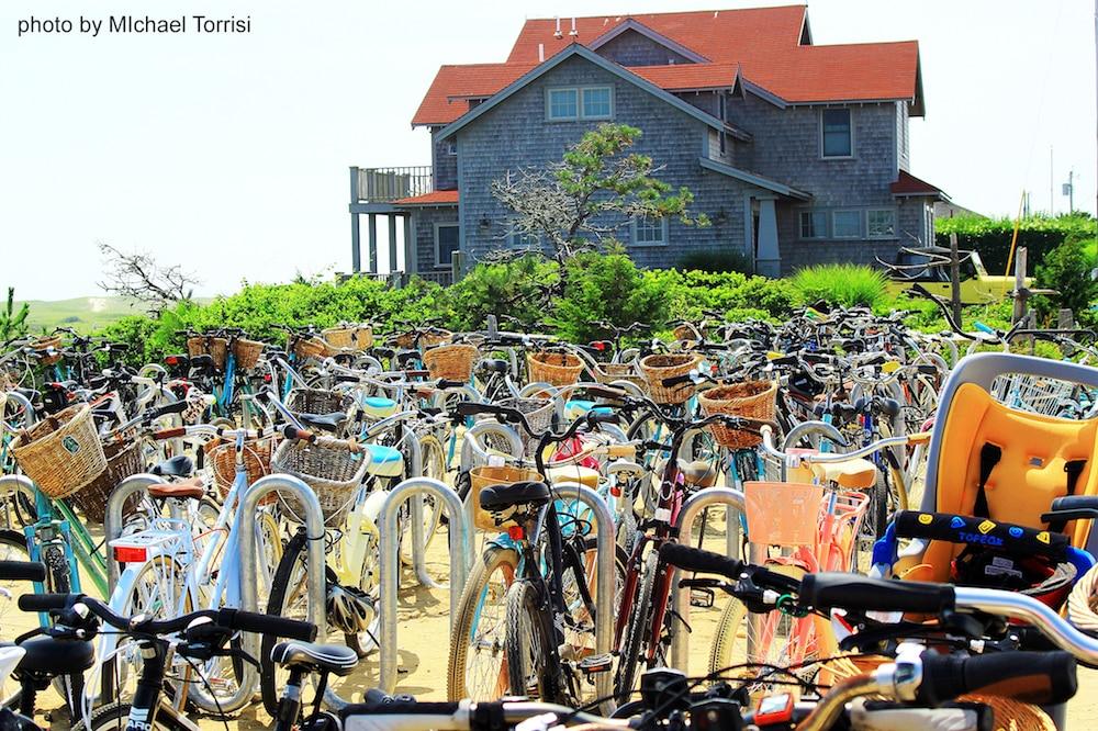 Bikes on Nantucket Island