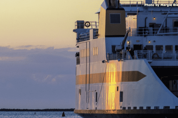 Nantucket Island Ferry Departing