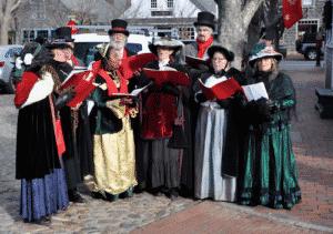 Nantucket Christmas Stroll Carolers