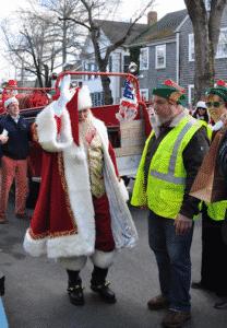 Santa Claus on Nantucket