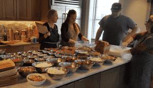 Nantucket Gingerbread House Team