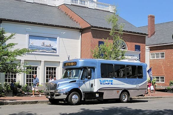 NRTA Nantucket transit bus