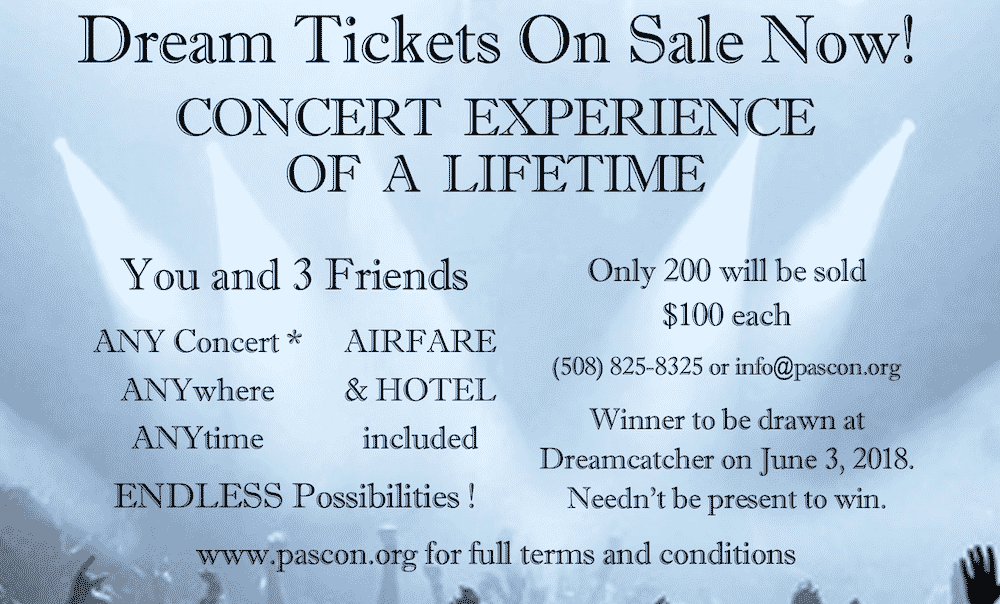 Win 4 Tickets to Concert of Your Choice Anywhere in the Contiguous