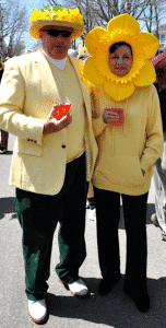 Daffy Couple at Nantucket Picnic