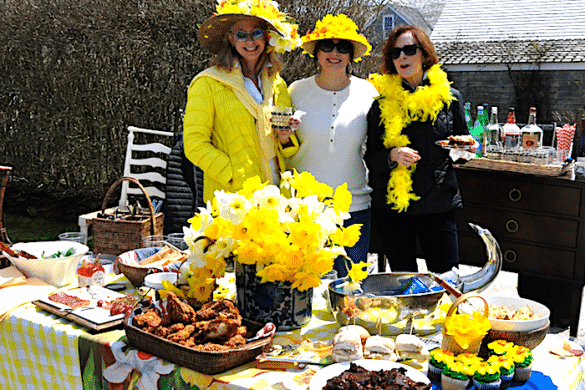 Daffy Ladies Picnic on Nantucket