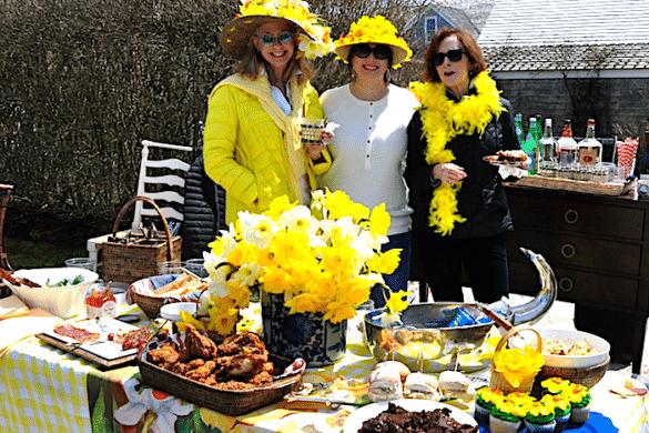 Daffy Ladies Picnic on Nantucket