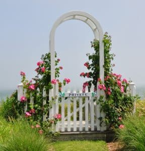 Nantucket Rose Arbor