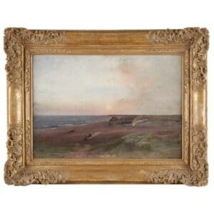 George Inness Nantucket Painting