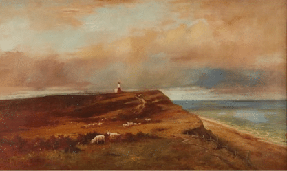 Willam F. Macy Nantucket Painting