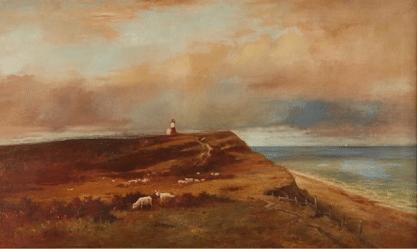 Willam F. Macy Nantucket Painting