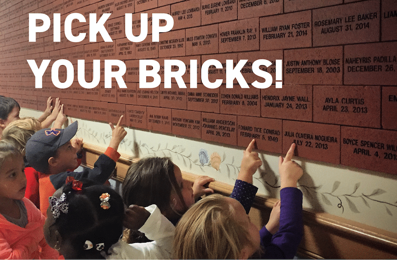 Nantucket Cottage Hospital Birth Bricks