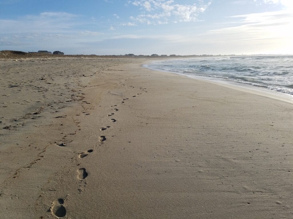 Nantucket Beach: Take Only Photos, Leave Only Footprints