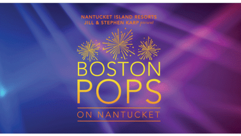 Boston Pops on Nantucket 2019
