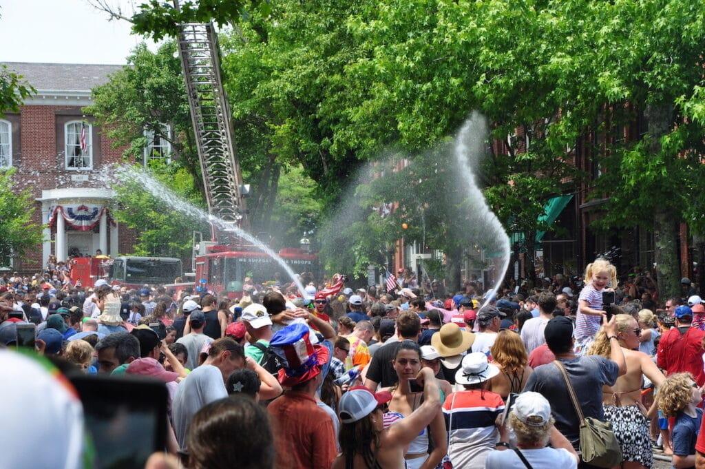 Nantucket July 4th Waterfight