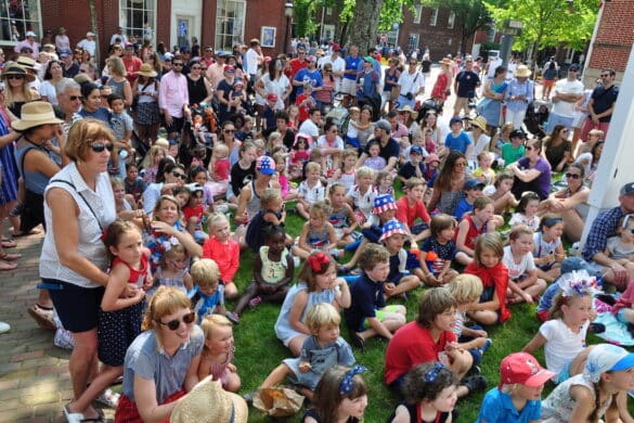 Nantucket July 4th puppet show