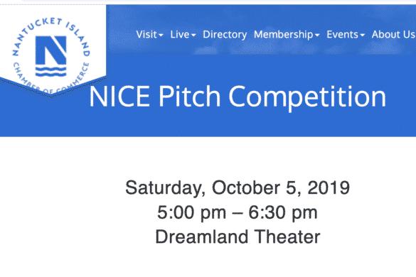 Nantucket Pitch for Entrepreneurs