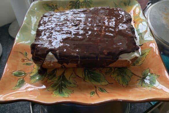 Nantucket Tar Roof Cake