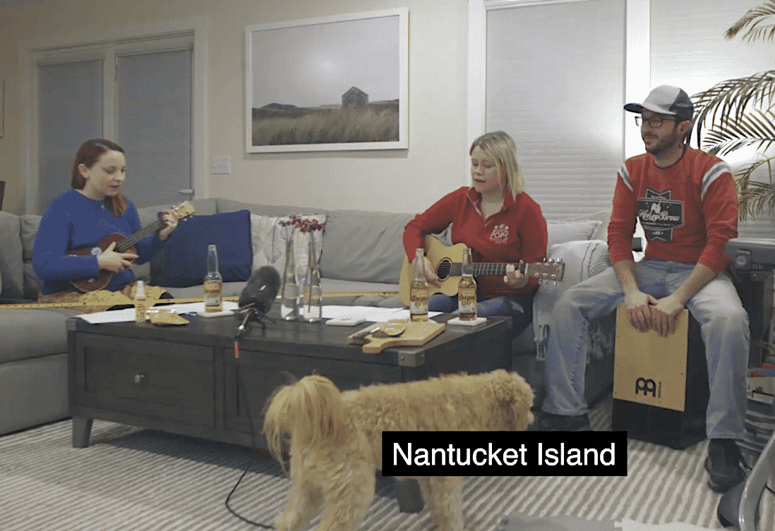 Nantucket Corona Song Challenge
