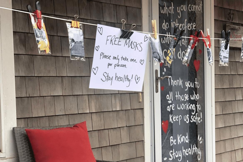 Free Masks on Nantucket