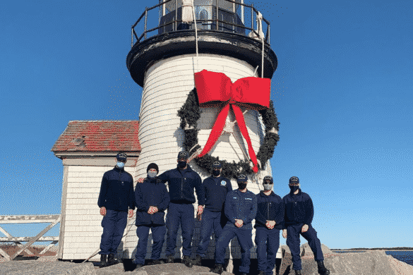 Brant Point Lighthouse Wreath