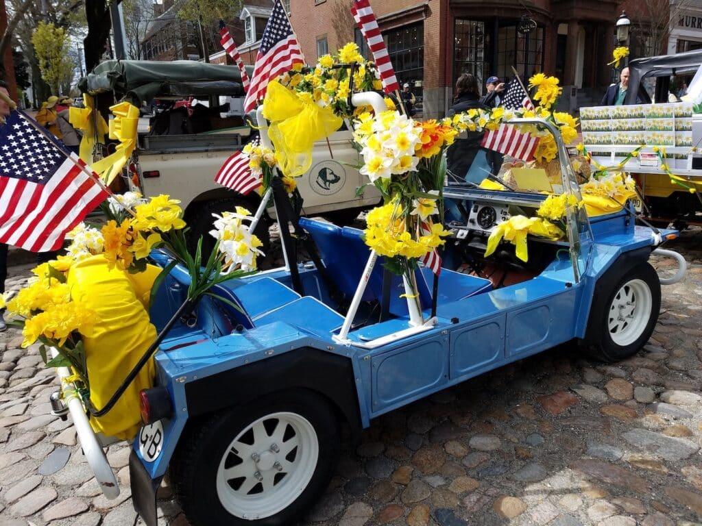 Nantucket Antique Car Parade